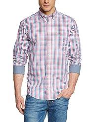 Casamoda 442042400 - Camisa casual de manga larga para hombre