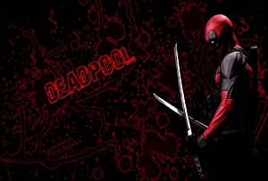 Motif Deadpool Marvel Comic Book movie-Toile imprimée motif 30 x 20 cm