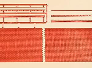 Auhagen 44630Paredes de ladrillo con Friso de Sangrado Versiones Modelling Kit