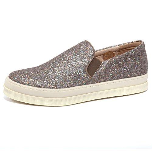 B1220 sneaker donna UNISA scarpa paillettes slip on shoe woman [40]