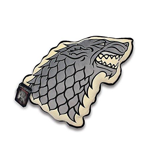 Game of Thrones Kissen Stark Wappen, ca. 35 cm Sandfarben aus Polyester