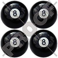 Otto palla 8biliardo Pool snooker 5,1cm (50mm)