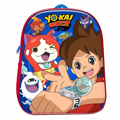 Mochila con relieve Yo-Kai Watch 31cm