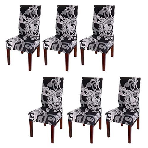 BTSKY 6 Fundas sillas Comedor – Estilo Moderno Sencillo