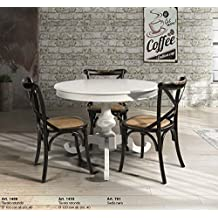 Amazon.it: tavolo rotondo allungabile moderno