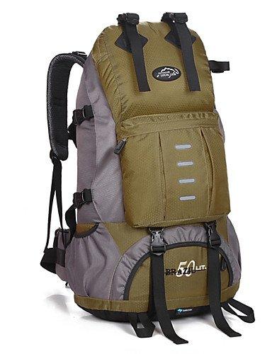 ZQ 50 L Rucksack Legere Sport / Reisen / Laufen Draußen / Leistung Wasserdicht / Multifunktions andere Nylon N/A Purple
