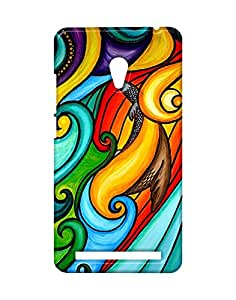 Pickpattern Back Cover for Asus Zenfone 6