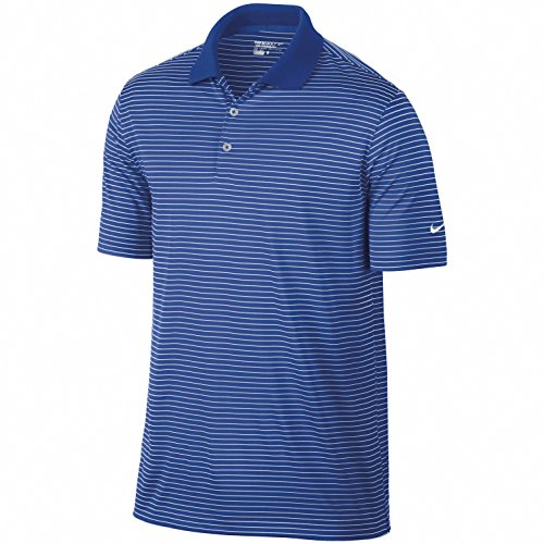 Nike VICTORY Stripe Polo Shirt Game Royal S (86 - 91 cm) (Running Nike Gear)