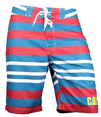 CAT Lifestyle Herren C2820967 Logo Board Shorts (L) (Flamme) -