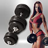 We R Sports® 20KG 30KG 40KG 50kg Dumbbell Set Vinyl Gym Free Weights Biceps Fitness Dumbbells