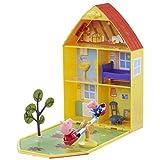 Peppa Pig 06156 - Maletín de juego'Casa y jardín de Peppa'