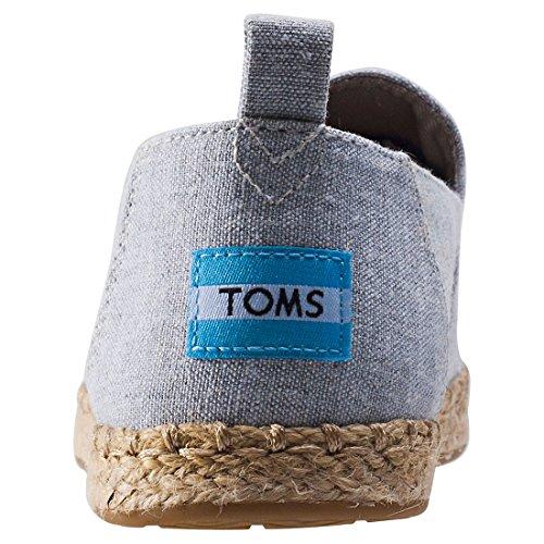 Toms Déconstruit Alpargata Donna Espadrillas Bruine Grey Slub