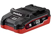 Metabo 625343000 18 V 3.1 A LIHD Li-Ion Battery Pack - Green