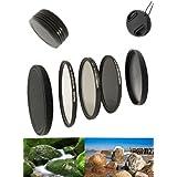 Haida kit pro de filtres digital slim pour 72 mm avec filtre uV mC pro iI, filtre polarisant circulaire slim et filtre gris neutre slim nD64 bonus