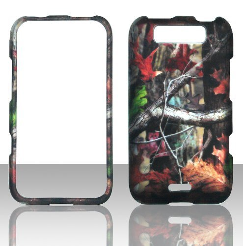 2D Camo Trunk V LG Connect MS840 Metro PCS Fall Hard Handy Snap auf Cover Fall Displayschutzfolie
