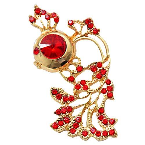 1 Stück Goldfisch Stil Hübsche Accessory Party Ornamente Mode Schmuck Bridal Bouquet Brosche -