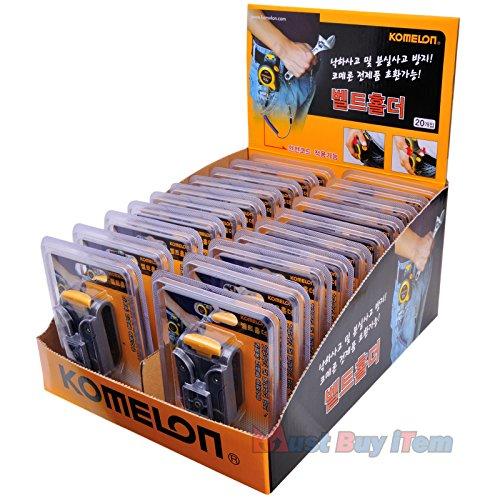 Vintage Repertory Großverkauf verlost 20 PC Universal-Komelon Maßband Gürtel Clip-Halter mit Werkzeug Aufhänger Ring für Ingenieure Messwerkstückträger Lagerung 1 (Vintage Werkzeug-gürtel)