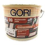 Fassadenfarbe Gori 99 Holzfassadenfarbe kieselgrau 2,12l