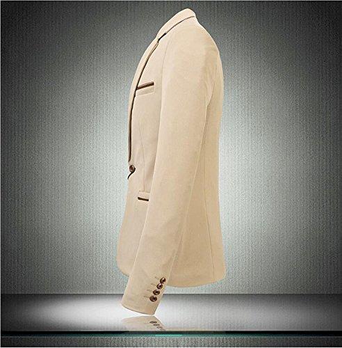 Wiboyeu - Blazer - Homme Grün - Khaki