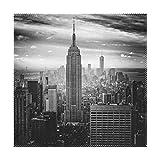 XiangHeFu Platzsets York City City 30,5 x 30,5 cm einteilig hitzebeständig Rutschfest Esstisch, Polyester-Mischgewebe, Image 72, 12x12x4(in)