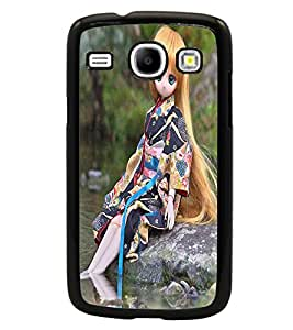 PRINTSWAG CUTE GIRL Designer Back Cover Case for SAMSUNG GALAXY CORE i8262