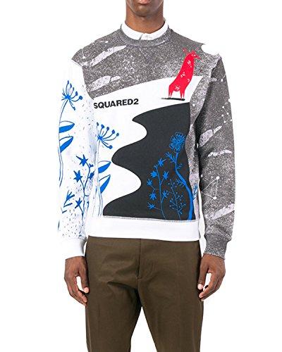 DSQUARED2 - Men's Sweatshirt S71GU0204 - White, ...