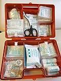 Erste Hilfe Koffer zur Wandmontage inkl. Befestigungsmaterial und Beatmungshilfe (DIN 13169,