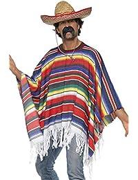 Generique - Poncho Mexicain Homme