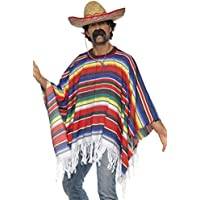 Ouest sauvage de poncho mexicain de Mens - costume costumé adulte