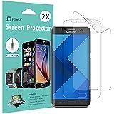 Protection écran Galaxy S7 Edge, [Couverture Complète], JETech Lot de 2 TPE Film Protège d'écran pour Samsung Galaxy S7 Edge