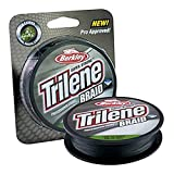 Berkley Trilene Professional Grade Braid Angelschnur, Low-Vis Green, 150 yd./30 lb.