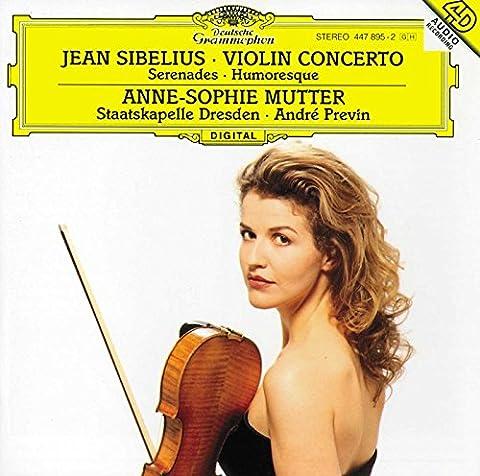 Sibelius : Concerto pour violon en ré mineur, op. 47 - Sérénades n° 1 et n° 2, op. 69 - Humoresque n°1, op. 87