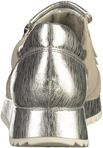 Tamaris 24701, Scarpe da Ginnastica Basse Donna Grigio (Cloud/silver)