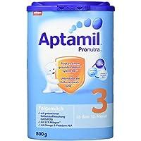 Aptamil Pronutra 3 Folgemilch, ab dem 10. Monat, 4er Pack (4 x 800 g)