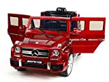 RC,2x MOTOREN KINDERAUTO ELEKTROAUTO Mercedes Benz G63 AMG 12V RC USB/SD-Karte
