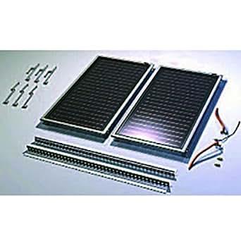 Atlantic - Pack 2 Panneaux Solaire Thermique Solerio - Ref : 835102