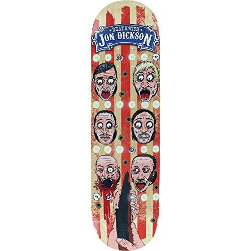 Unbekannt Deathwish Dickson Carny Skateboard-Brett/Deck, 20,32 cm