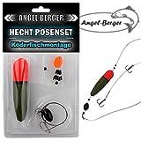 Angel Berger Hecht Posenset Köderfischset Köderfischmontage (14g)