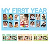 Best Grandparents Picture Frames - myprinfy Baby's My First Year Pine wood Photo Review