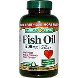 Nature's Bounty, Fish Oil, Omega-3, 1200 mg, 120 Softgels