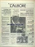 AURORE (L') [No 8711] du 04/09/1972 - S'ALLIER AUX COMMUNISTES - UN METIER PLUS QU'INGRAT - J.O. - MARK SPITZ A DECROCHE SA 6EME MEDAILLE D'OR - DROGUE - LE GROS BONNET AUGUSTE RICORD LIVRE AUX USA PAR LE PARAGUAY - VIETNAM - SANGLANTE EMBUSCADE PRES