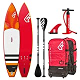 Fanatic Ray Air Touring Premium 11.6 Inflatable SUP Windsurf Stand up Paddle Board Komplett Set