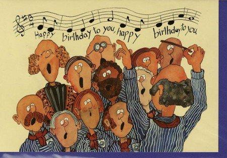Happy Birthday Männerchor