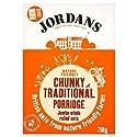 Jordans Chunky Traditional Porridge Jumbo Whole Rolled Oats, 750 g