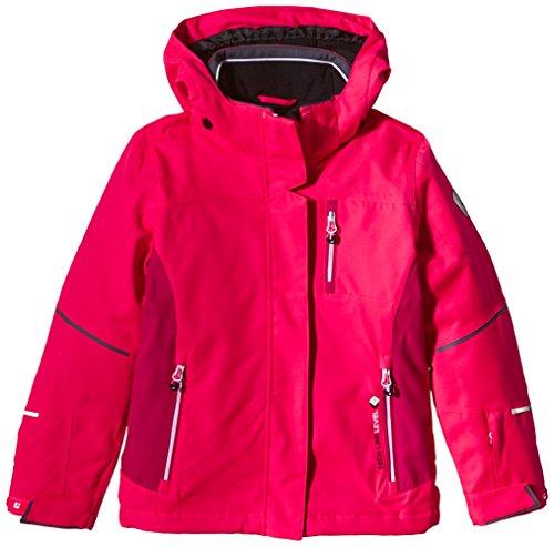 Killtec giacca sportiva da bimbo con cappuccio Jole, neon-Coral, 176, 26971-000