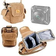 DURAGADGET Borsa A Tracolla Piccola Per Nikon KeyMission 360 | 170 | 80 - Con Tasche Per Piccoli Accessori