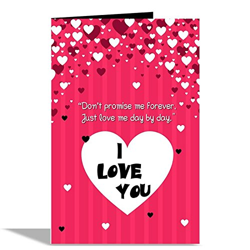 Alwaysgift i love u valentines day greeting card staybuzzy alwaysgift i love u valentines day greeting card m4hsunfo