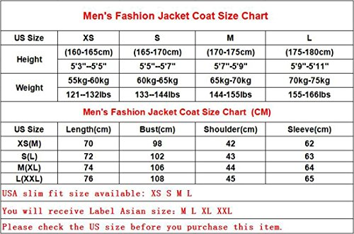 jeansian Herren Fashion Stitching Leather Sleeve Zipper Trench Long Coat Jacket Winter Overcoat Tops 9567 Gray