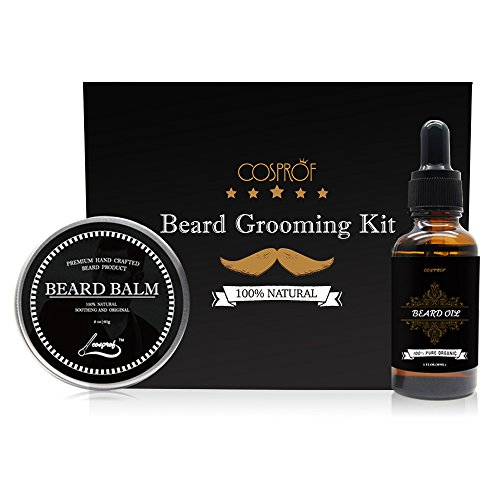 Tireless Hand Crafted Caveman® Beard Oil Set Kit Beard Oil Hair Care & Styling Balm Free Wooden Beard Comb Beautiful And Charming Aftershave & Pre-shave