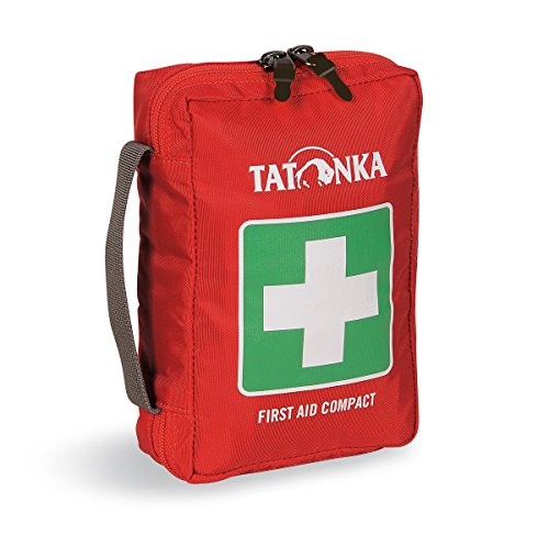 Tatonka Erste Hilfe First Aid Compact red, 18 x 12,5 x 5,5 cm - Erste-hilfe-kit Bereit